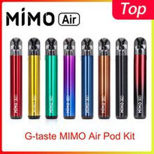 New arrival G-taste MIMO Air Pod Kit 450mah built-in battery 1.3ml Side filling pod system vaporizer vs justfog minifit