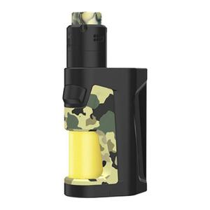 Pulse Dual 220W 2ml TC VW Squonk  + Pulse V2 RDA Kit - Camouflage Yellow