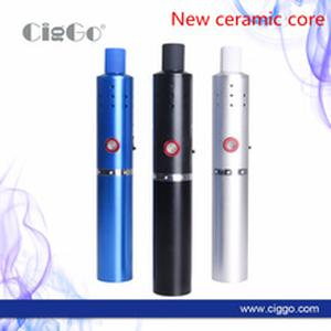Original Dry Herb Vaporizer Ciggo Herbstick Eco 2200mah Airflow Hole Mini Vape Pen Dry Herbal Vape Pen