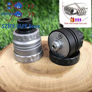 Armor S Styled RDA  with bf pin 22mm diameter 316 stainless steel 510 thred Top oiling diy edc Atty
