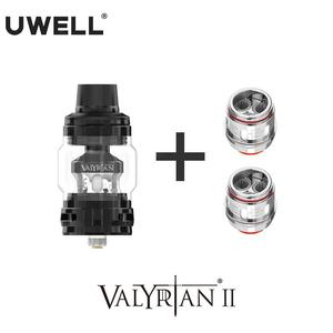 UWELL Valyrian II Tank with 1 Pack Valyrina II Replacement Coil UN2 Single Dual Triple Meshed Coil