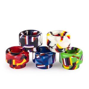 528 Red Flag Resin Drip Tip (5PCS) - Random Color