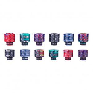 AS131S 510 Snake Skin Resin Drip Tip