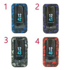 1pcs New Protective Silicone Case for  Luxe 220W Mod Vape Cover Rubber Skin Warp Sticker 4 colors