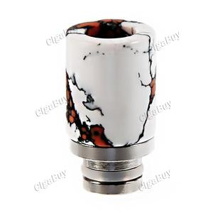 Replacement Artificial Jade Drip Tip for 510 Atomizer - White