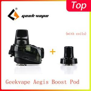 Original  Aegis Boost Pod Cartridge with 0.4ohm/0.6ohm Coil & 2ml/3.7ml Capacity  for Aegis Boost kit