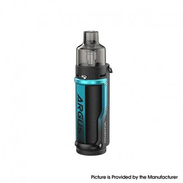 Argus  Pod System Vape Mod Kit w/ PnP Pod - 1500mAh, 5~40W, 4.5ml / 2.0ml, 0.3ohm /  - Litchi Leather Blue