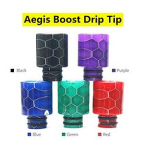 Vaporlinda Replaement Resin Cobra Drip Tip For  Aegis Boost Pod Kit