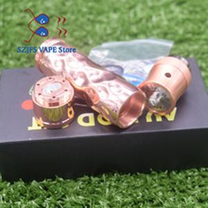 Avid lyfe Brass copper Aluminum  Material Mechanical Mod 18650 battery e cigarette kit 24mm diameter mod vs sob mod kit