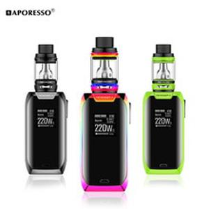 Revenger X Kit 220W Electronic Cigarette with Revenger X Mod NRG SE mini Tank Vape Kit Support GT4 GT8 coil