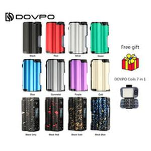 Original DOVPO Topside 90W Top Fill TC Squonk MOD with 10ml Large Squonk Bottle & 0.96 Inch OLED Screen