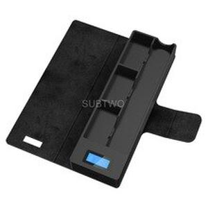 SUB TWO Mobile Charging Pods Case Holder Box Electronic Cigarette LCD Charging Indicator Box Universal Compatible for JUL