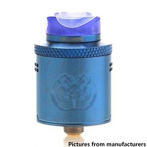 Drop Dead Style 24mm RDA  w/ BF Pin - Blue