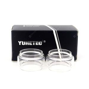 YUHETEC Replacement Bulb Glass Tube for  Sky Solo 8ML 2PCS
