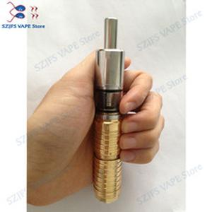 Telescopic mechanical tobacco rod electronic cigarette red copper electric shock 04ss mech MOD 18650 /18350/18500 model battery