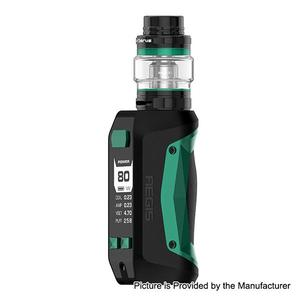 GeekVape Aegis Mini 80W 2200mAh TC VW  w/ Cerberus Atomizer 5.5ml Kit - Green