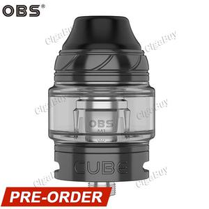Cube Sub-Ohm Tank Atomizer 4ML 24MM - Gunmetal