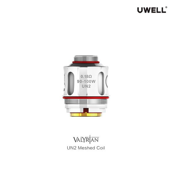 UWELL 2PCS VALYRIAN 2 UN2 Replacement Coil 0.32ohm Single Meshed Coil  for Electronic Cigarette VALYRIAN 2 Tank