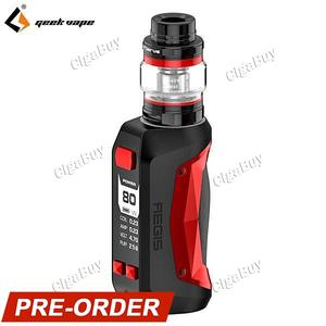 Aegis Mini 80W Cerberus Tank Kit - Black & Red