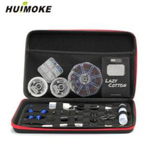 All In One Electronic Cigarette Tools Bag Case For Packing Atomizer e Liquid Coil Wire e Cig Cotton Tweezer Jig Coil Master Bag