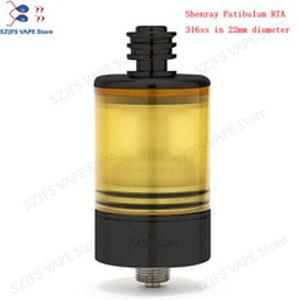 Patibulum RTA MTL Tank  22mm  3.5ml Atomizermouth to lung Vape Tank single coil Disk type AFC system Vape mod Vaporizer vsKAYFU