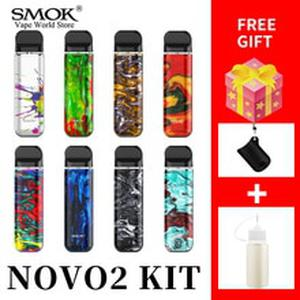 VAPE  NOVO2 Kit 800 mah Battery Cigarette Electronique 2ml Tank  Novo MTL Pod  vS smok Nord Vape pen