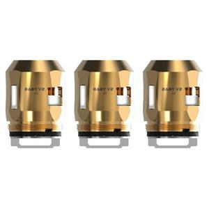 Baby V2 A3 Replacement 0.15ohm Coil For TFV8 Baby V2 Atomizer (3PCS) - Gold