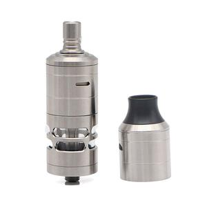 Korina V6 MTL 23mm RTA  W/ DL Replacement Cover Kit 6ml/ with logo - Silver
