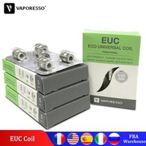 25pcs Original  Ceramic SS316L Traditional Clapton 0.3ohm 0.4ohm 0.5ohm 0.6ohm EUC Coil for Estoc Veco Plus Gemini Tank