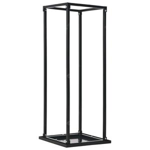 vidaXL Firewood Rack with Base  37x37x113cm Steel