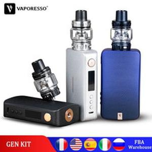 Original  Gen Vape Kit 220W Electronic Cigarette with SKRR S Tank Atomizer QF Meshed or GT Coil Core Polar kit upgrade