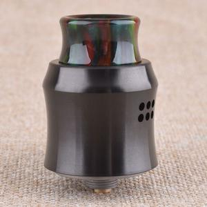 Recurve Style 24mm 304SS RDA  w/ BF Pin - Black