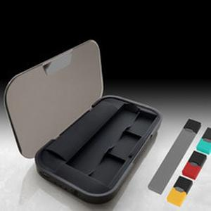Latest Mobile Charging Pods Case Holder Box for JUUL  Vape Kit 1200mAh Charger Pods Case Holder Box Universal Compatible