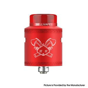 Dead Rabbit V2 24mm RDA Rebuildable Dripping Atomzier w/ BF Pin - Red