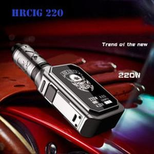 Original HRCIG 220W VTC  Ni/Ti/SS Mode electronic cigarette box mod Kit with 4ml tank 0.2ohm low resistance