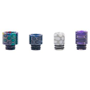 D4 Replacement 510 Hive Resin Drip Tip (4PCS) - Random Color