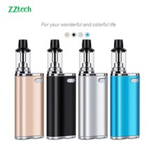 Latest E-Cigarette 10w Mini Portable Vape kit 650mAh box mod Battery 1.5ml 1.0ohm coil Large smoke Vape pen vaporizer vs lite 40