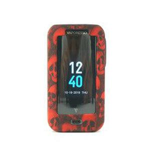 2pcs New Protective Silicone Case for  Luxe 220W skull Mod Vape Cover Rubber Skin Warp Sticker 4 colors