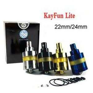 Kayfun Lite MTL RTA SS316 Pei 2ml 22mm/24mm Atomizer Tank  Adjustable