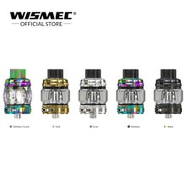 [Official store]  TROUGH Tank 6.5ml Electronic Cigarette Atomizer with WT01/WT02/WT03 Coil For 510 Box vape MOD