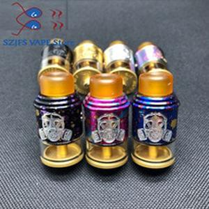 Apocalypse GEN 2 RDA Atomizer with Wide Bore Drip Tip 24mm Rebuildable Vaporizer Tank for 510 e Cigarette  edc diy goon