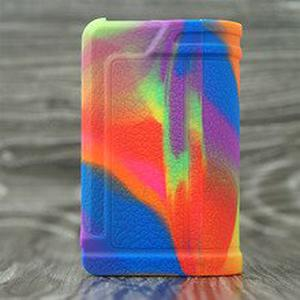 10pcs Silicone case for  Paranormal DNA75C pod Mod Vape kit texture skin rubber sleeve protective cover fit DNA75C