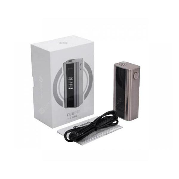 Cuboid 150W TC Box mod Power by 18650 Battery with OLED Screen Work with Cubis Sub ohm Tank TFV4 Mini Vape Tank