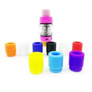 10PCS 810 Disposable Drip Tips Colorful Silicon Mouthpiece For All 810 Sized Electronic Cigarette Atomizer