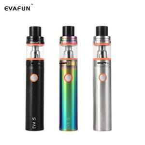 EVA S Starter Kit Electronic Cigarette 2400mAh Battery 5ml Top Fill V8 Big Baby Tank Atomizer Vape Pen Kit Stick V8 Vaporizer