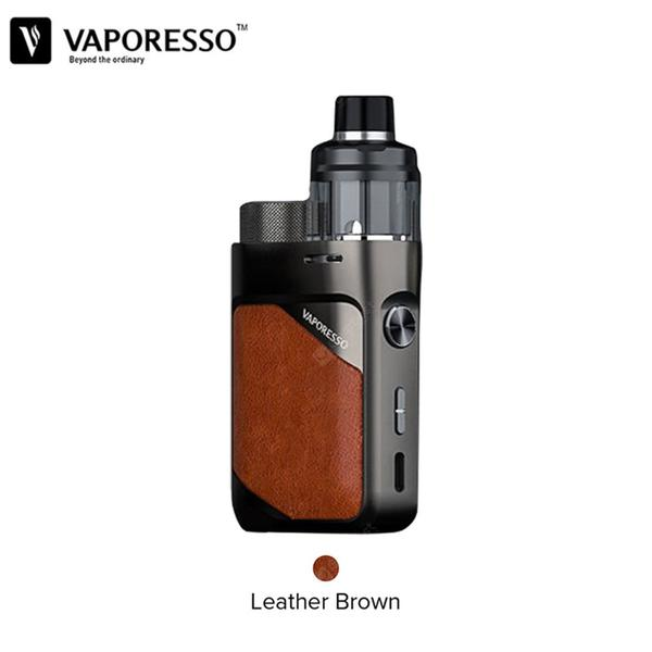 Swag PX80 Pod Mod Kit 80W Mod with 4ml Swag Pod Cartridge fit GTX Coil Powered by Single 18650 Battery