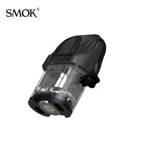 NOVO 4 POD Cartridge Empty 2ml Capacity Side Filling Tank Compatible with LP1 Mesh Coil c 3pcs/Pack