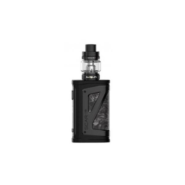 SCAR-P18 230W VW Mod Vape Starter Kit with TFV9 Tank - Fluid Black Grey