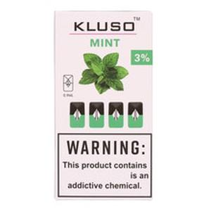 20Pcs Kluso Electronic Cigarettes Cartridge Pods 0.9ml Capacity e Cigs Pod for MYLE Battery Device Starter Kits