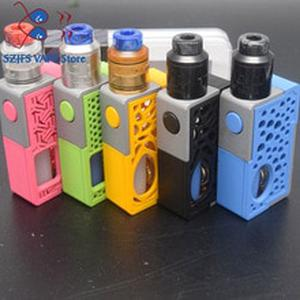 Vertex Mod Style Mechanical Box with goon 1.5 rda box mod kit soft Bottle Bottom Feeder Mech Mod RDA with 8ML Silicone BF Bottle